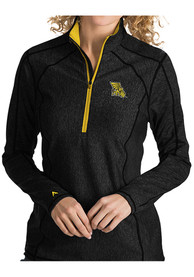 Antigua Missouri Western Griffons Womens Tempo Black 1/4 Zip Pullover
