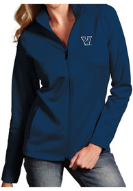 Antigua Villanova Wildcats Womens Leader Navy Blue Medium Weight Jacket