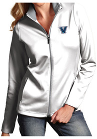 Villanova Wildcats Womens Antigua Leader Medium Weight Jacket - White