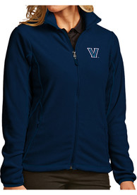 Villanova Wildcats Womens Antigua Ice Medium Weight Jacket - Navy Blue