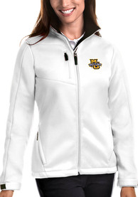 Marquette Golden Eagles Womens Antigua Traverse Medium Weight Jacket - White