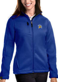 San Jose State Spartans Womens Antigua Traverse Medium Weight Jacket - Blue