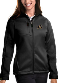 Colorado Buffaloes Womens Antigua Traverse Medium Weight Jacket - Black