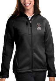 UMD Bulldogs Womens Antigua Traverse Medium Weight Jacket - Black