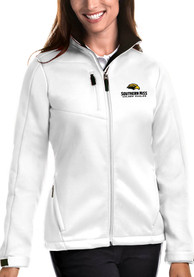 Southern Mississippi Golden Eagles Womens Antigua Traverse Medium Weight Jacket - White