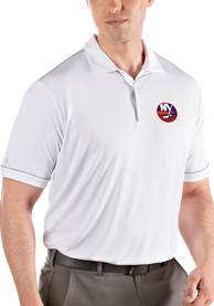 New York Islanders Antigua Salute Polo Shirt - White