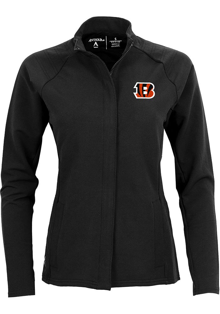 Antigua Cincinnati Bengals Womens Black Travel Light Weight Jacket - Image 1