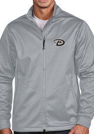 Arizona Diamondbacks Antigua Golf Light Weight Jacket - Silver