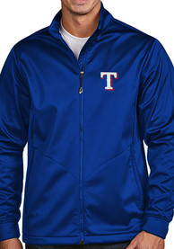 Texas Rangers Antigua Golf Light Weight Jacket - Blue