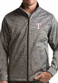 Texas Rangers Antigua Golf Light Weight Jacket - Black