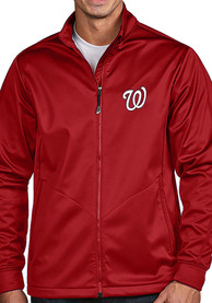 Washington Nationals Antigua Golf Light Weight Jacket - Red