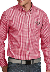 Arizona Diamondbacks Antigua Associate Dress Shirt - Red