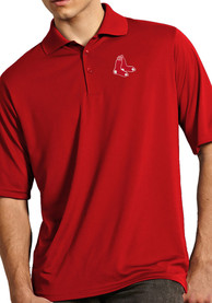 Boston Red Sox Antigua Exceed Polo Shirt - Red