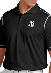 63af157c3 Antigua New York Yankees Mens Navy Blue Exceed Short Sleeve Polo ...
