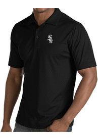 Chicago White Sox Antigua Inspire Polo Shirt - Black