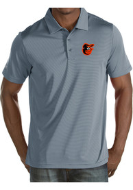 Baltimore Orioles Antigua Quest Polo Shirt - Grey