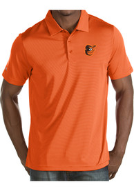 Baltimore Orioles Antigua Quest Polo Shirt - Orange