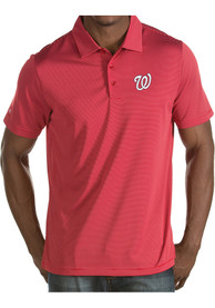 Washington Nationals Antigua Quest Polo Shirt - Red