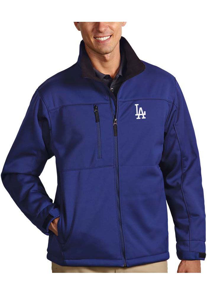 Antigua Los Angeles Dodgers Mens Blue Traverse Heavyweight Jacket - Image 1