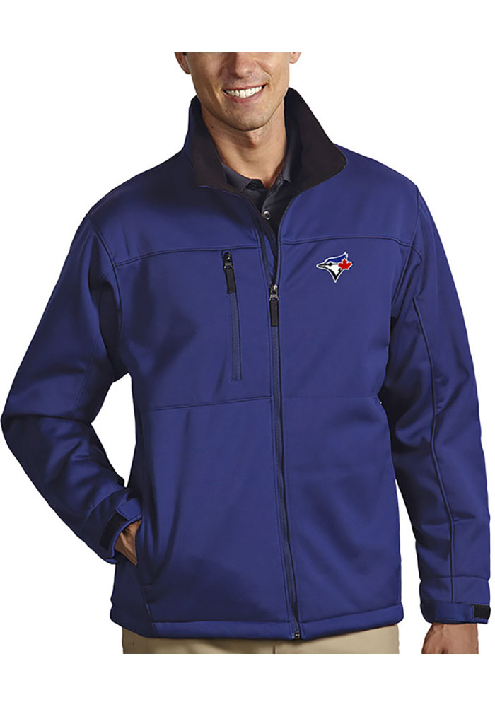 Antigua Toronto Blue Jays Mens Blue Traverse Medium Weight Jacket - Image 1