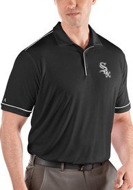 Chicago White Sox Antigua Salute Polo Shirt - Black