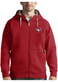 Toronto Blue Jays Antigua Victory Full Zip Jacket - Red