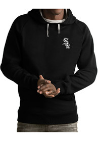 Chicago White Sox Antigua Victory Hooded Sweatshirt - Black