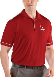 Los Angeles Dodgers Antigua Salute Polo Shirt - Red