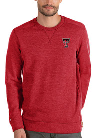 Antigua Texas Tech Red Raiders Red Defender Sweater Sweater