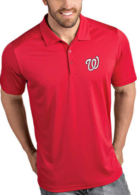 Washington Nationals Antigua Tribute Polo Shirt - Red
