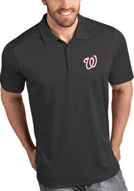Washington Nationals Antigua Tribute Polo Shirt - Grey