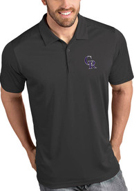 Colorado Rockies Antigua Tribute Polo Shirt - Grey