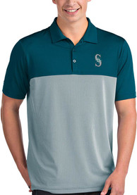 Seattle Mariners Antigua Venture Polo Shirt - Teal