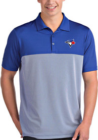Antigua Toronto Blue Jays Blue Venture Short Sleeve Polo Shirt