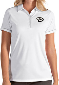 Antigua Arizona Diamondbacks Womens White Salute Polo