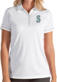 Antigua Seattle Mariners Womens White Salute Polo