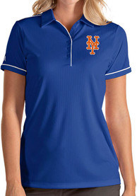 Antigua New York Mets Womens Blue Salute Polo