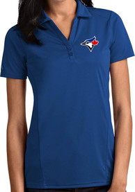 Toronto Blue Jays Womens Antigua Tribute Polo Shirt - Blue