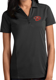 Arizona Diamondbacks Womens Antigua Tribute Polo Shirt - Grey