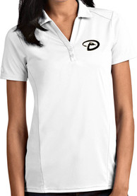 Arizona Diamondbacks Womens Antigua Tribute Polo Shirt - White
