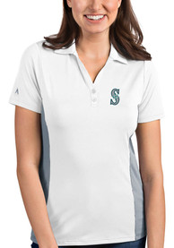 Antigua Seattle Mariners Womens White Venture Polo