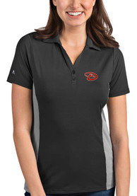 Antigua Arizona Diamondbacks Womens Black Venture Polo
