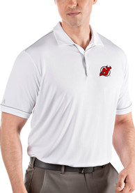 New Jersey Devils Antigua Salute Polo Shirt - White