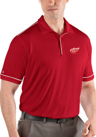 Antigua Detroit Red Wings Red Salute Short Sleeve Polo Shirt