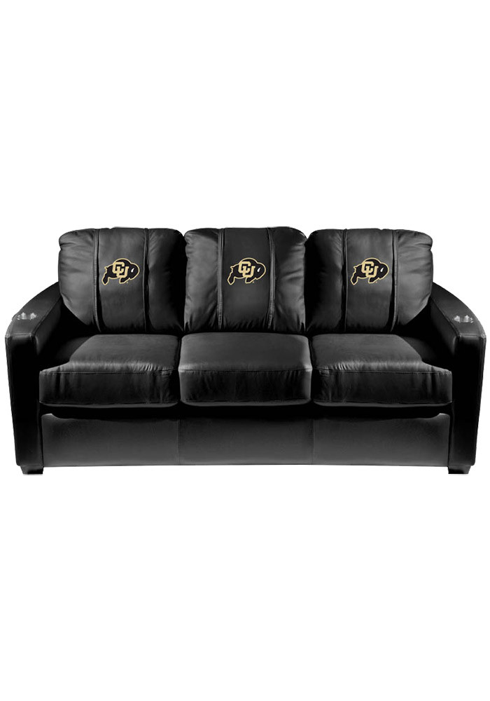 Colorado Buffaloes Leather Sofa - Image 1