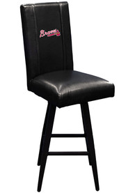 Atlanta Braves Swivel Pub Stool