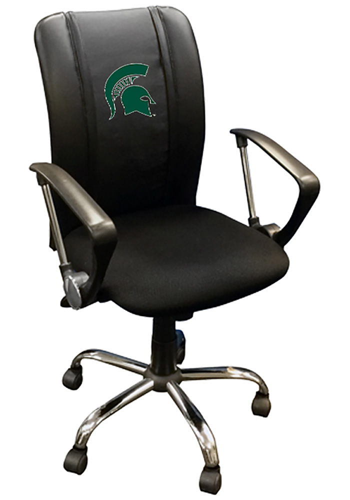 Michigan State Spartans Curve Desk Chair - Image 1