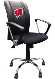 Wisconsin Badgers Curve Desk Chair