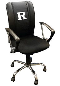 Rutgers Scarlet Knights Curve Desk Chair