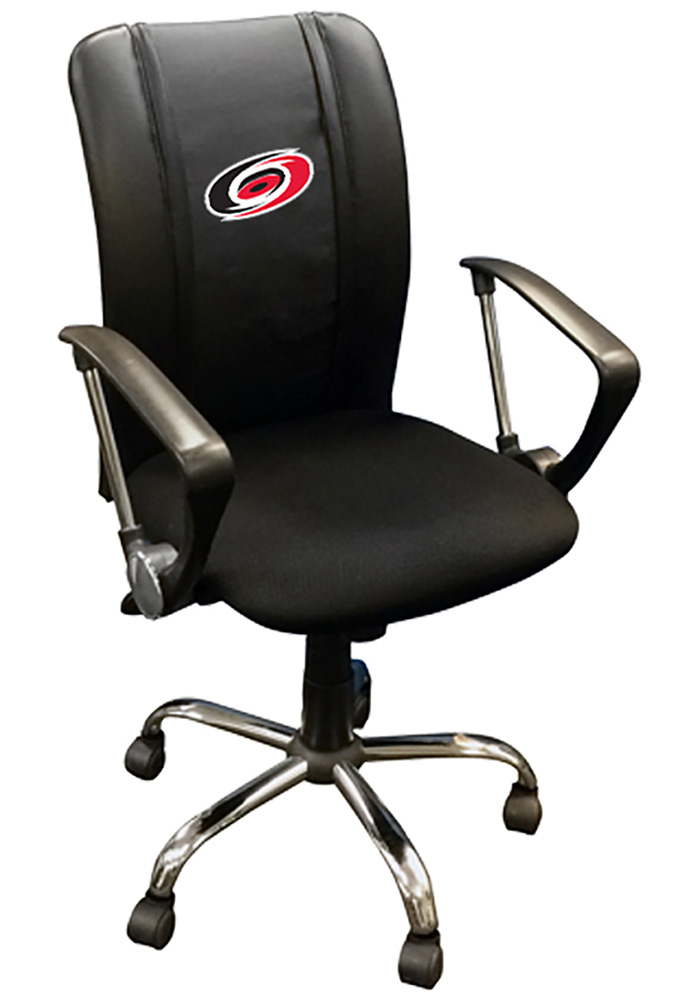 Carolina Hurricanes Curve Desk Chair - Image 1